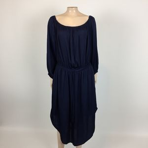 NEW Gap Women's Dress Large POCKETS Navy GG28